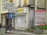 Tout près de la rue du Jambon