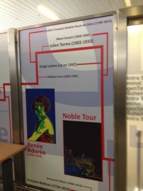 Célébrités lilloises à Bruxelles, zone d'embarquement vers Lille
