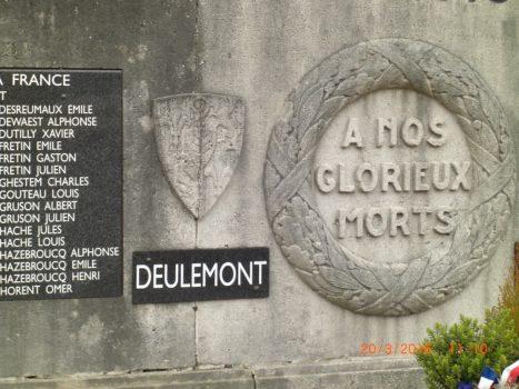 Monument aux morts de Deulemont