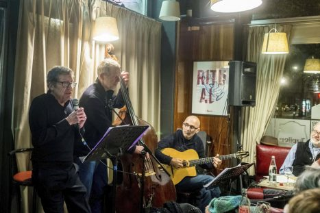 Au Verlaine avec Guy Ciancia, Erich Pralat et Eric Legrand